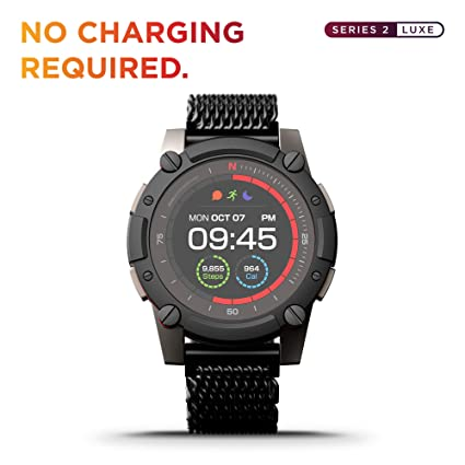 Amazon.com: PowerWatch 2 Luxe, Body Heat Powered Fitness ...