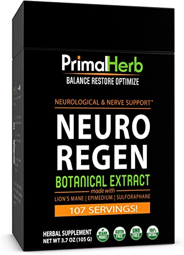 Nerve Support Mushroom Supplement