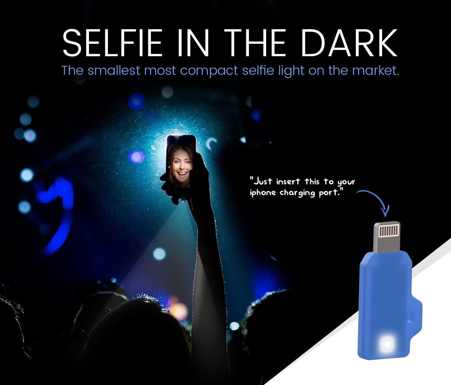 Low Light Photography iPhone Charging Port Powered iPhone Selfie Light Nighttime Video Chatting
