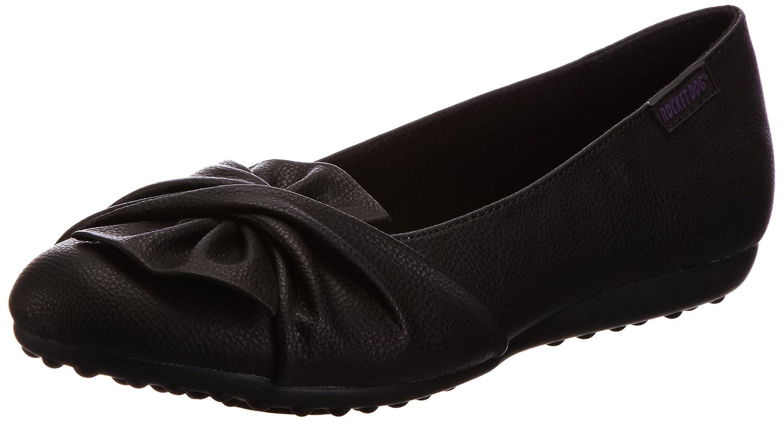 Rocket Dog Womens//Ladies Risky Slip On Ballerina Pump Shoes 7 US Matte Black