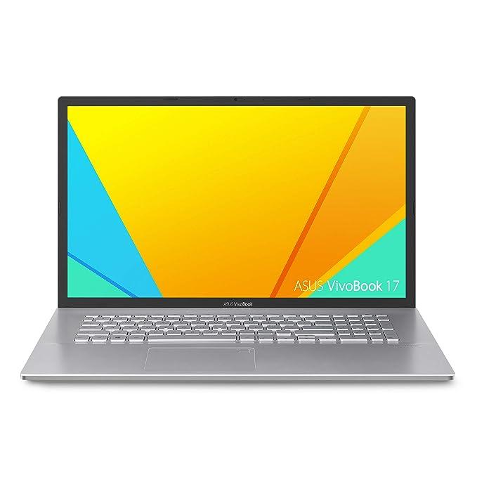 """Asus Vivobook 17 F712FA Thin and Light Laptop, 17.3"""" HD+, Intel Core I5-8265U Processor, 8GB DDR4 RAM, 128GB SSD + 1TB HDD, Windows 10 Home, ..."""