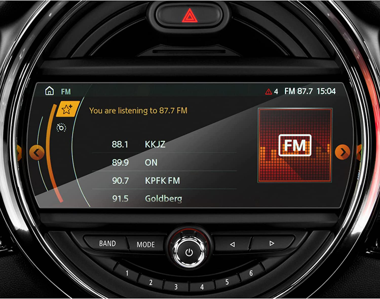 CarWorld para Mini Cooper Clubman Hardtop Countryman 2017-2021, película de Vidrio de Estilo de Coche, película de Pantalla de navegación GPS, Accesorio de Pegatina Interior