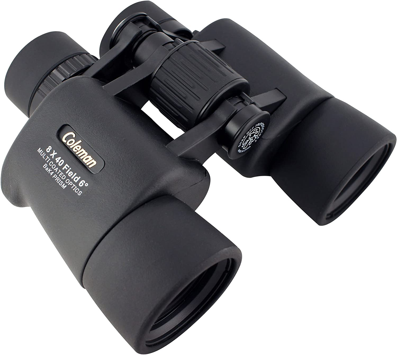 Coleman Signature Multi-Coated 8x40 Waterproof Binoculars with Carrying Case and Neck Strap