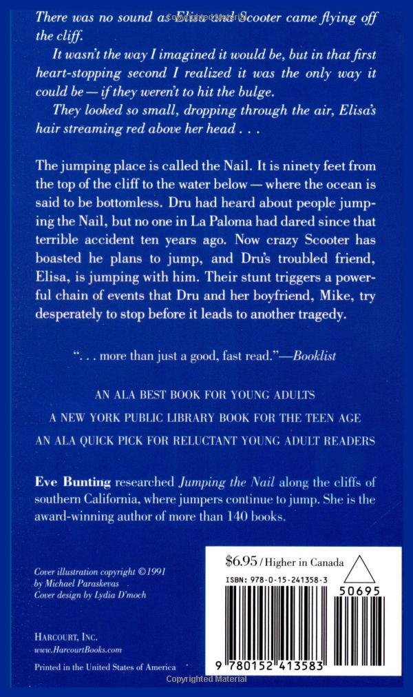 Jumping the Nail: Eve Bunting: 9780152413583: Amazon.com: Books