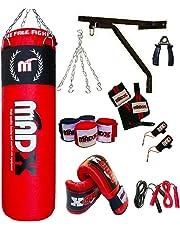 MADX 4ft Red 13pc Punch bag set