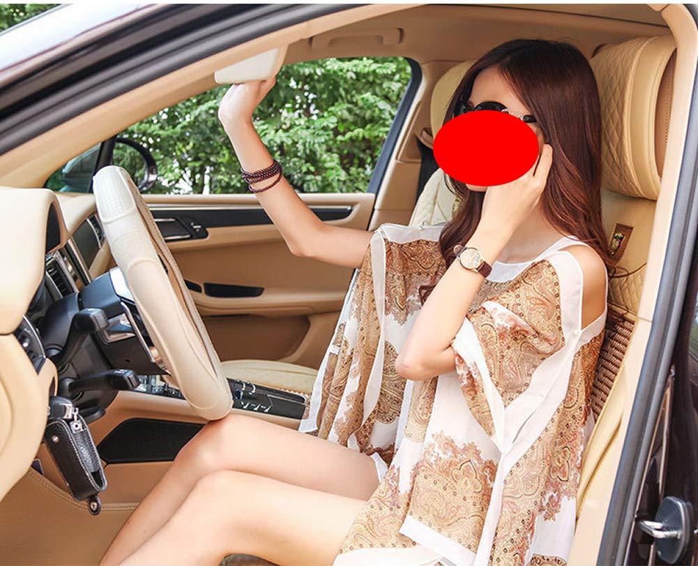 Women Soft Chiffon Shawl,Swimsuit Scarf, Beachwear Wraps, Beach Cover Up,Boho Chiffon Kimono Scarve Cover (White)