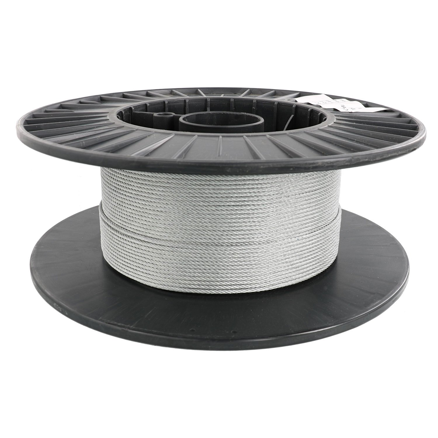 Pro Strand 3//32 X 250 Hot Dip Galvanized Cable Reel 7x19