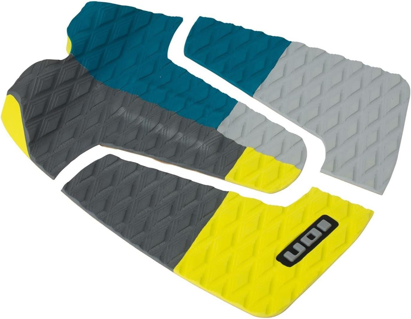 Litio footpad Deck Grip de 3 piezas color azul/gris/amarillo surf Board onda Jinete Kite Board Pad: Amazon.es: Deportes y aire libre