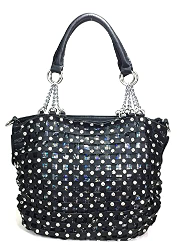 Zzfab Premium Classic Net Bling Handbag Black  Handbags  Amazon.com beb7a4f023516