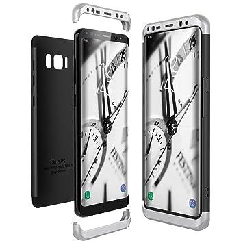 CE-Link Funda Samsung Galaxy S8 Plus / S8 Carcasa Fundas para Samsung Galaxy S8 Plus / S8+, 3 en 1 Desmontable Ultra-Delgado Anti-Arañazos Case ...