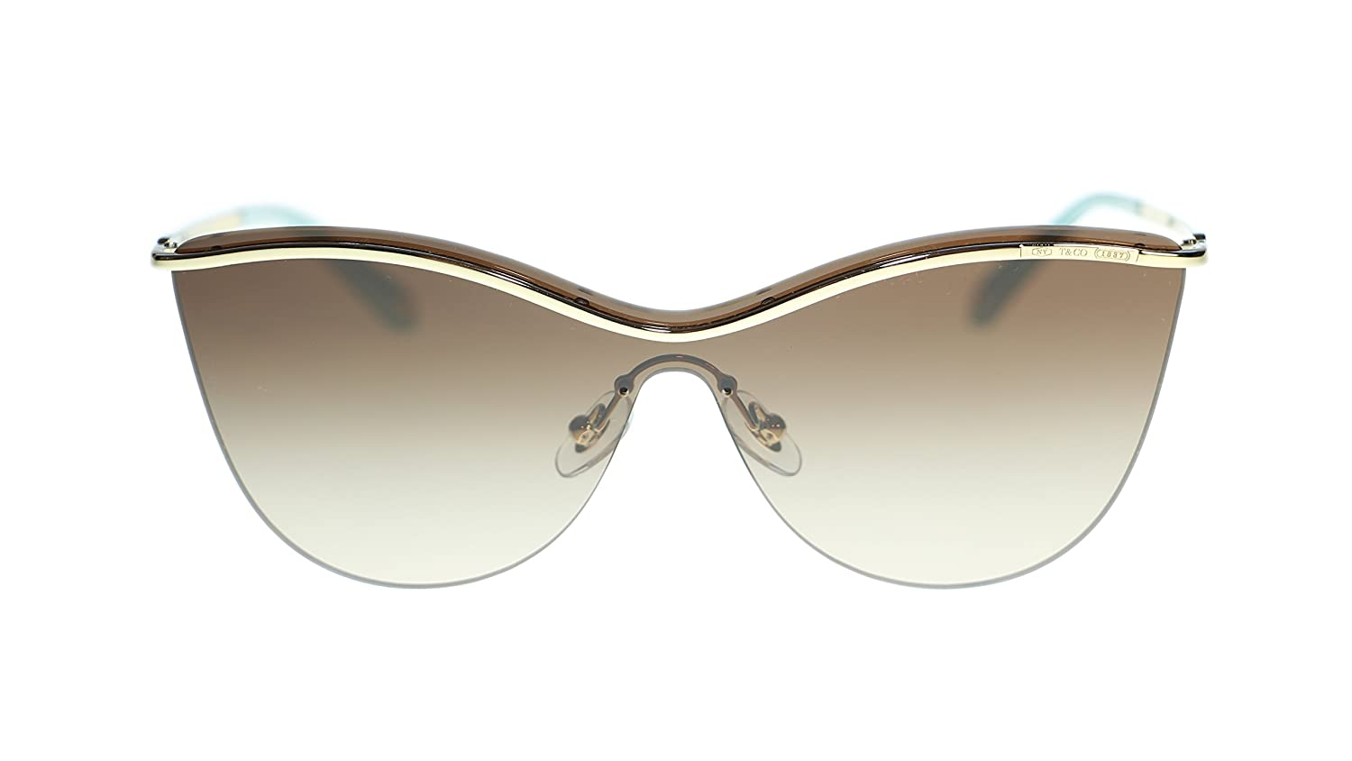 bb336af357d50 Amazon.com  TIFFANY   CO Butterfly Sunglasses TF3058 60213B Pale Gold Brown  Gradient 35mm  Clothing