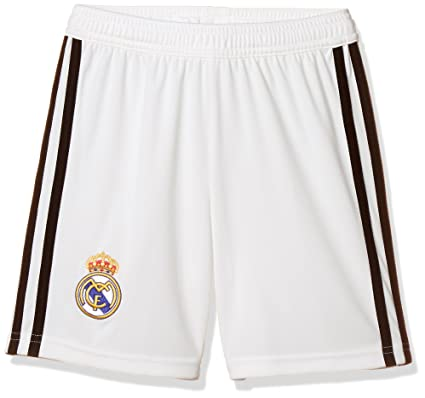Image Unavailable. Image not available for. Color  adidas 2018-2019 Real  Madrid Home Shorts ... 80d7d4745eec3