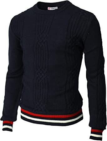 Mens Jumper Casual V-Neck Pullover Cotton Blend Casual Sweater No Pattern E74
