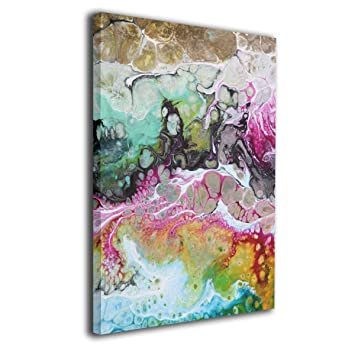 Amazon Com Yz Mamu Abstract Art Wall Art Paintings Prints On Canvas
