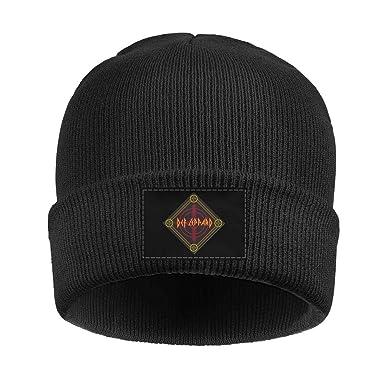 KmTGlory Def-Target-Bandana-Leppard- Beanies Hat for Men Soft Beanie Knit d2a8cd27018