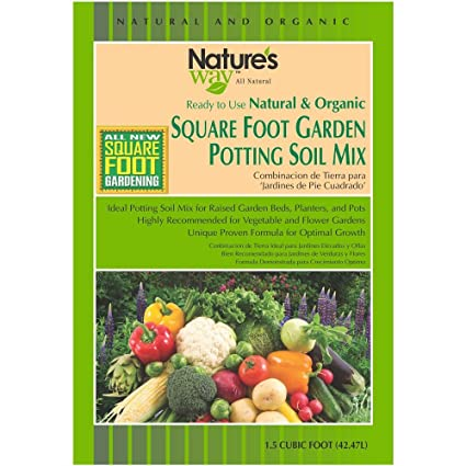 Attractive Soil Mix Gardening 1.5 Cu. Ft. Square Foot Gardening Potting Gallery