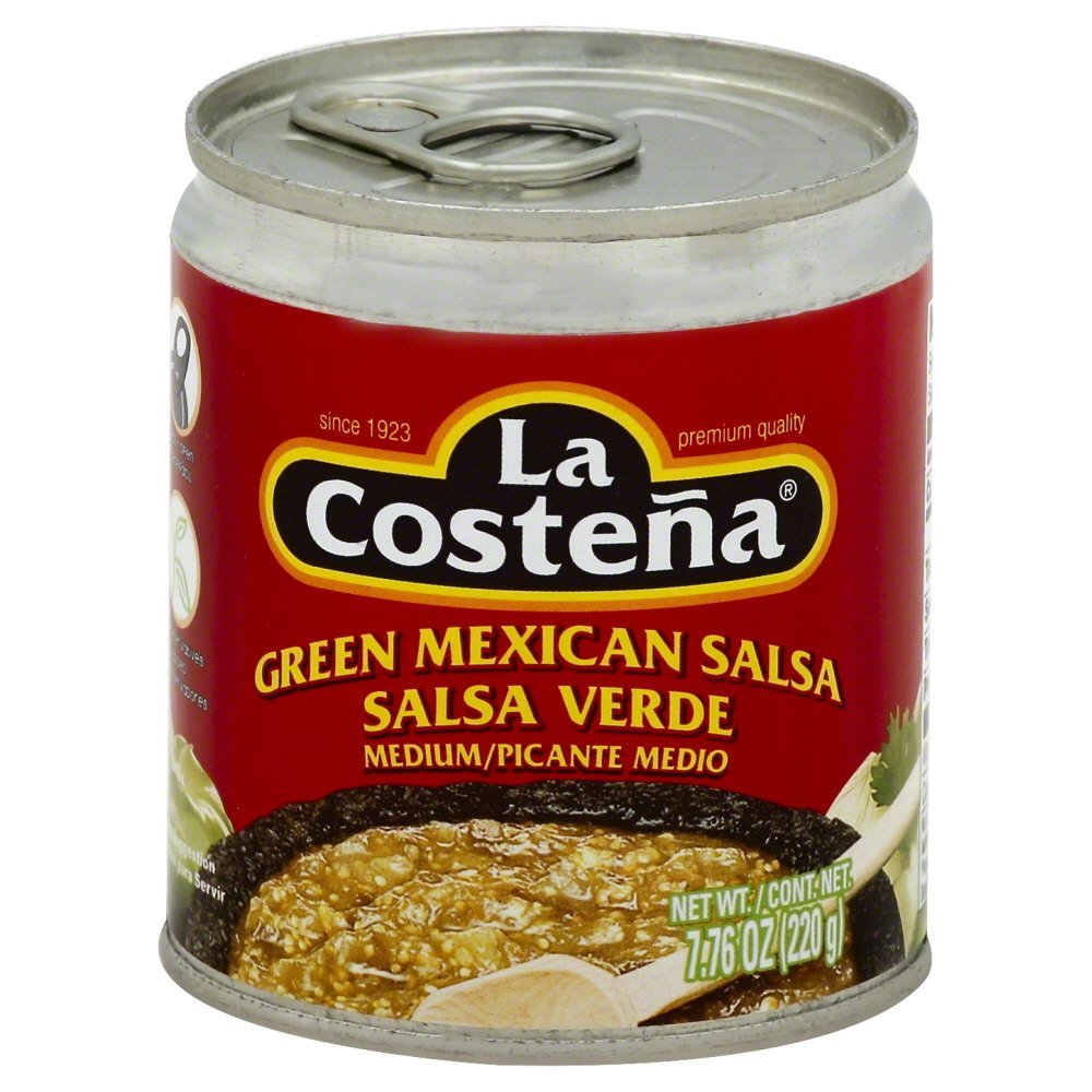 La Costena Medium Gren Mexican Salsa 7 Oz Pack Of 12 by LA COSTENA (Image #1)