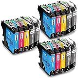 OfficeWorld Reemplazo para Brother LC223 Cartuchos de tinta Alta Capacidad Compatible para Brother DCP-J562DW DCP-J4120DW MFC-J480DW MFC-J4420DW MFC-J5320DW (6 Negro, 3 Cyan, 3 Magenta, 3 Amarillo)