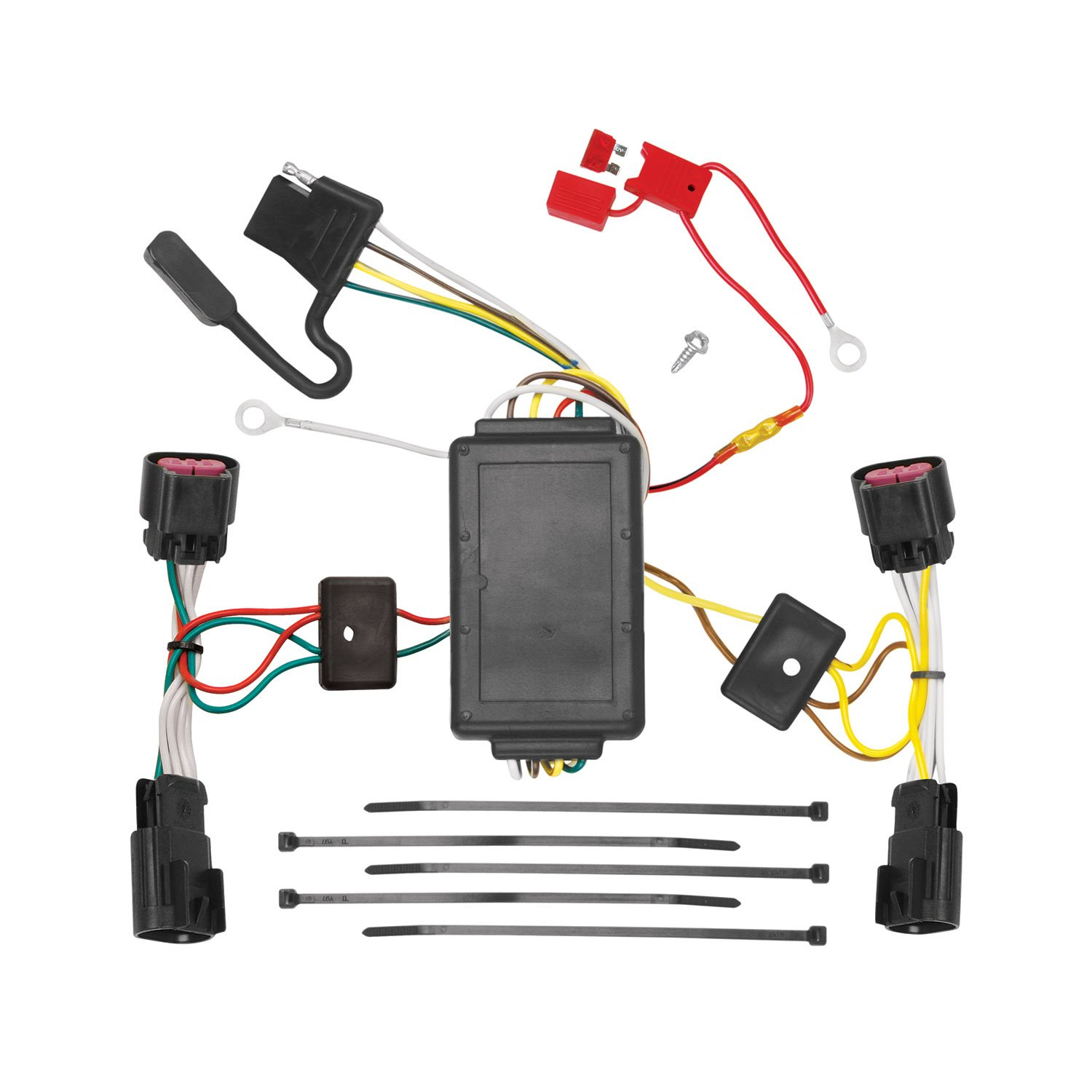 Fine Amazon Com Tekonsha 118486 T One Connector Assembly With Upgraded Wiring Database Gramgelartorg