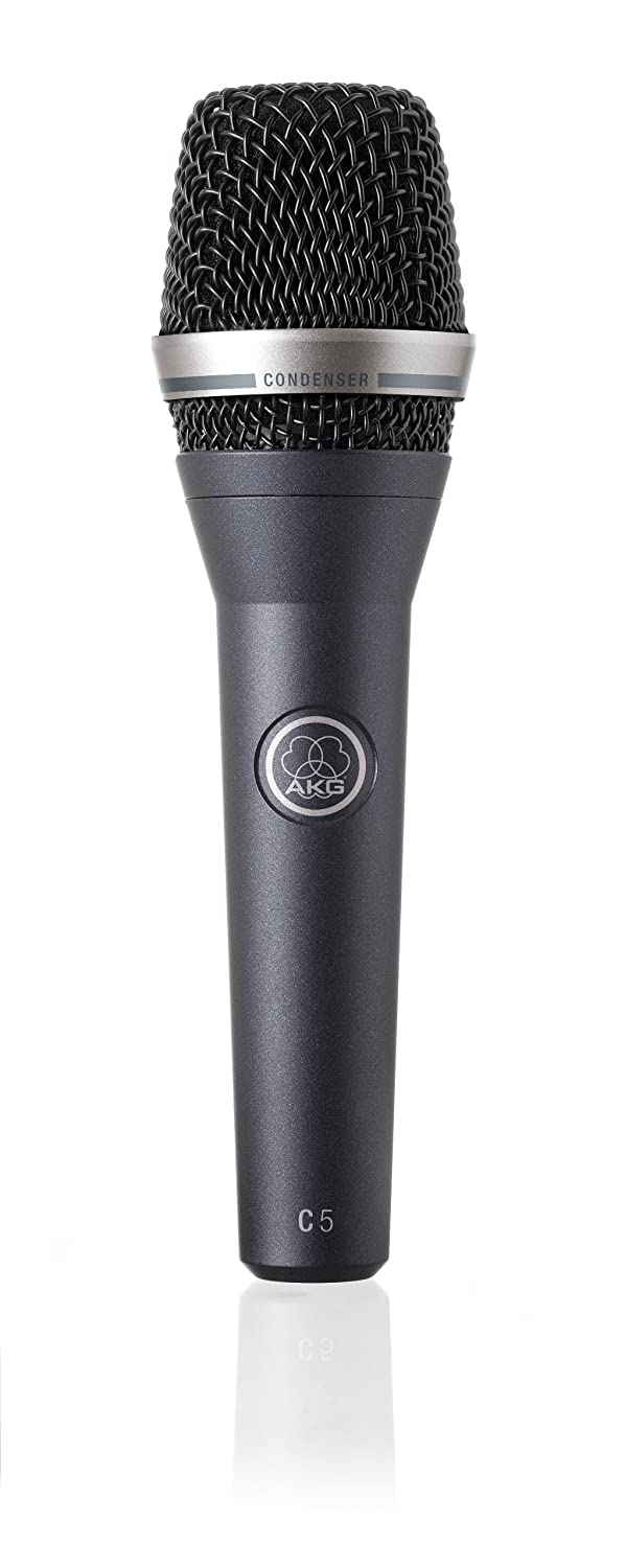 AKG C5 Professional condenser mic for lead & backing vocals on stage JBL