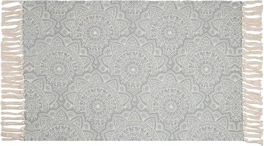 SHACOS Alfombra de Estilo Persa/Oriental - Alfombra de algodón ...