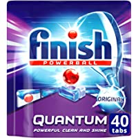 Finish Powerball Quantum Dishwasher Tablets, Original, 40 Pack