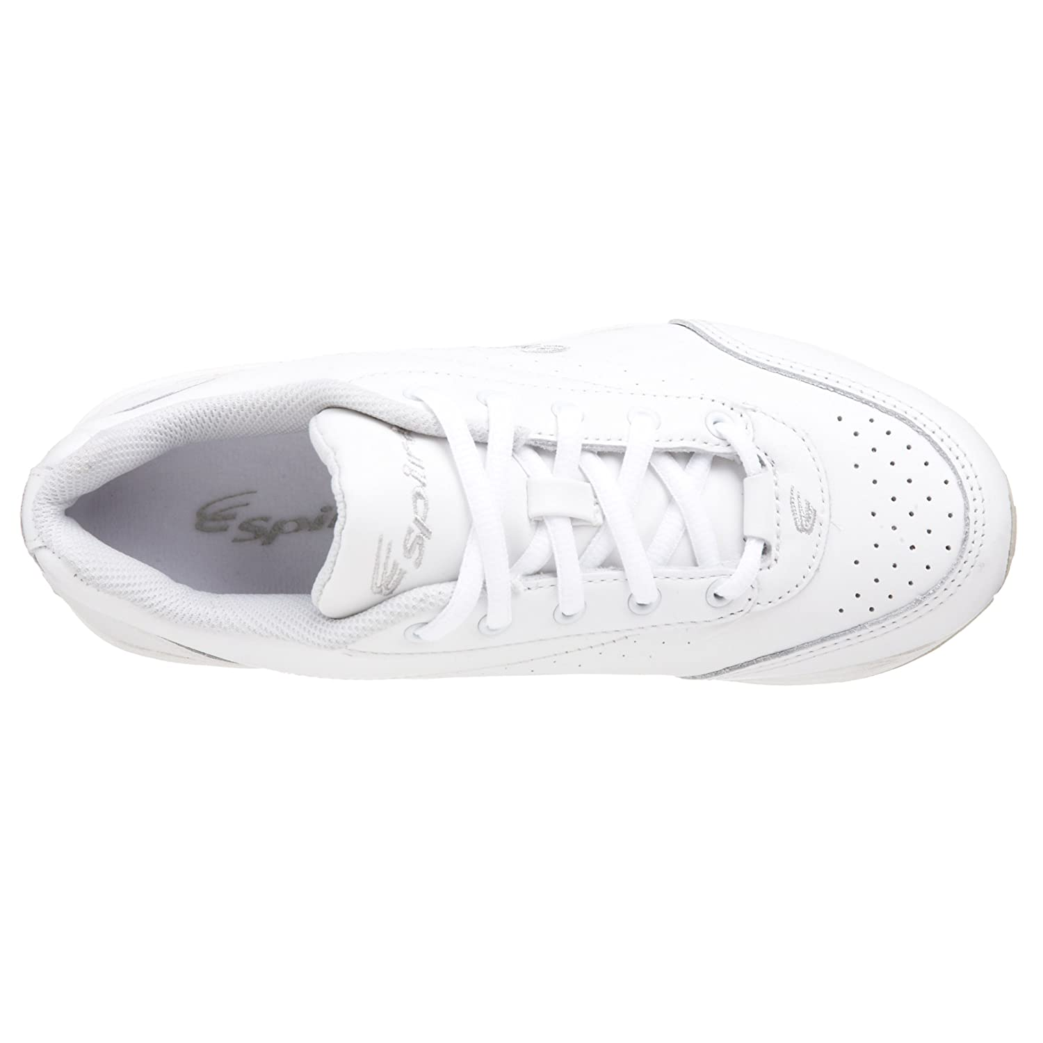 Spira Women's Classic Leather Walking Shoe B000J0ZKWE 9.5 2E|White/White