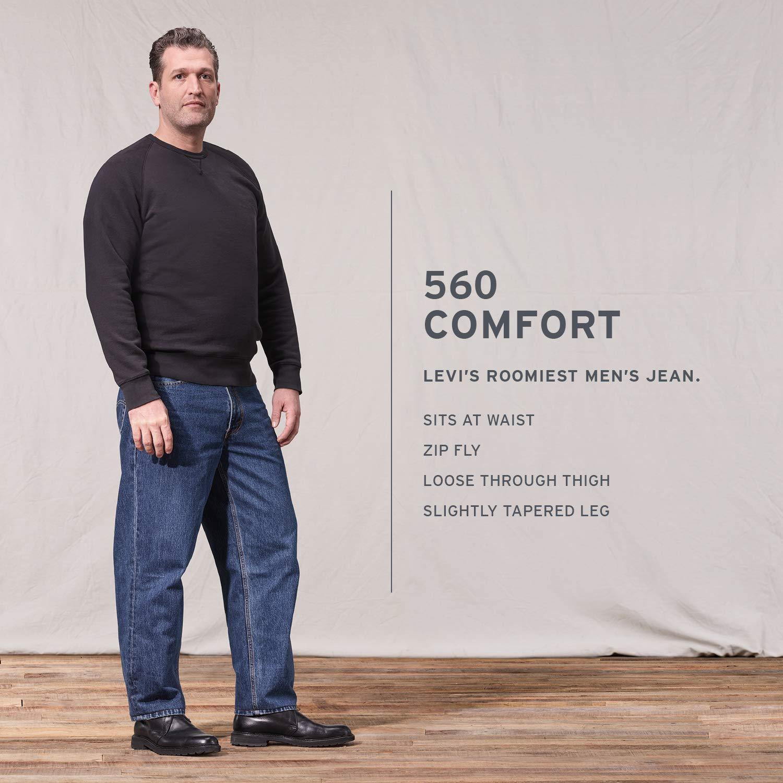 Levis Mens 560 Comfort-Fit Jean