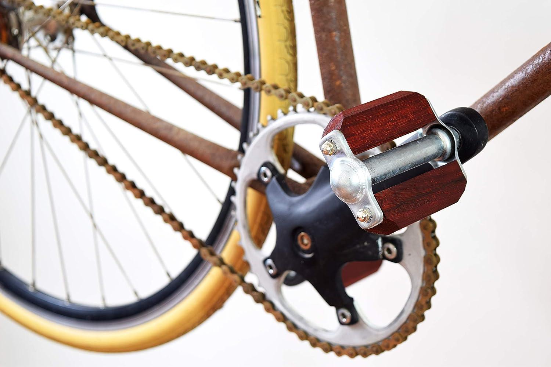 pedales bicicleta / accesorios bicicleta / pedales madera / pedales bici / bici madera / VINTAGE CORAL: Amazon.es: Handmade