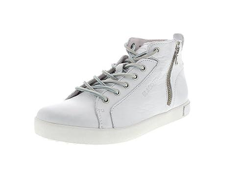 286365Schuhe Blackstone Damen Nl Sneaker 65 Weiß yN8n0vwOm