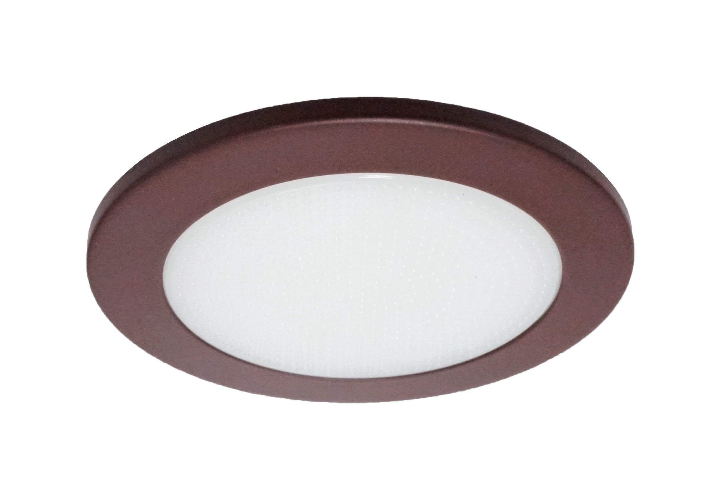 NICOR Lighting 4-inch Recessed Lighting Shower Trim with Albalite Lens, Oil-Rubbed Bronze (19509OB)