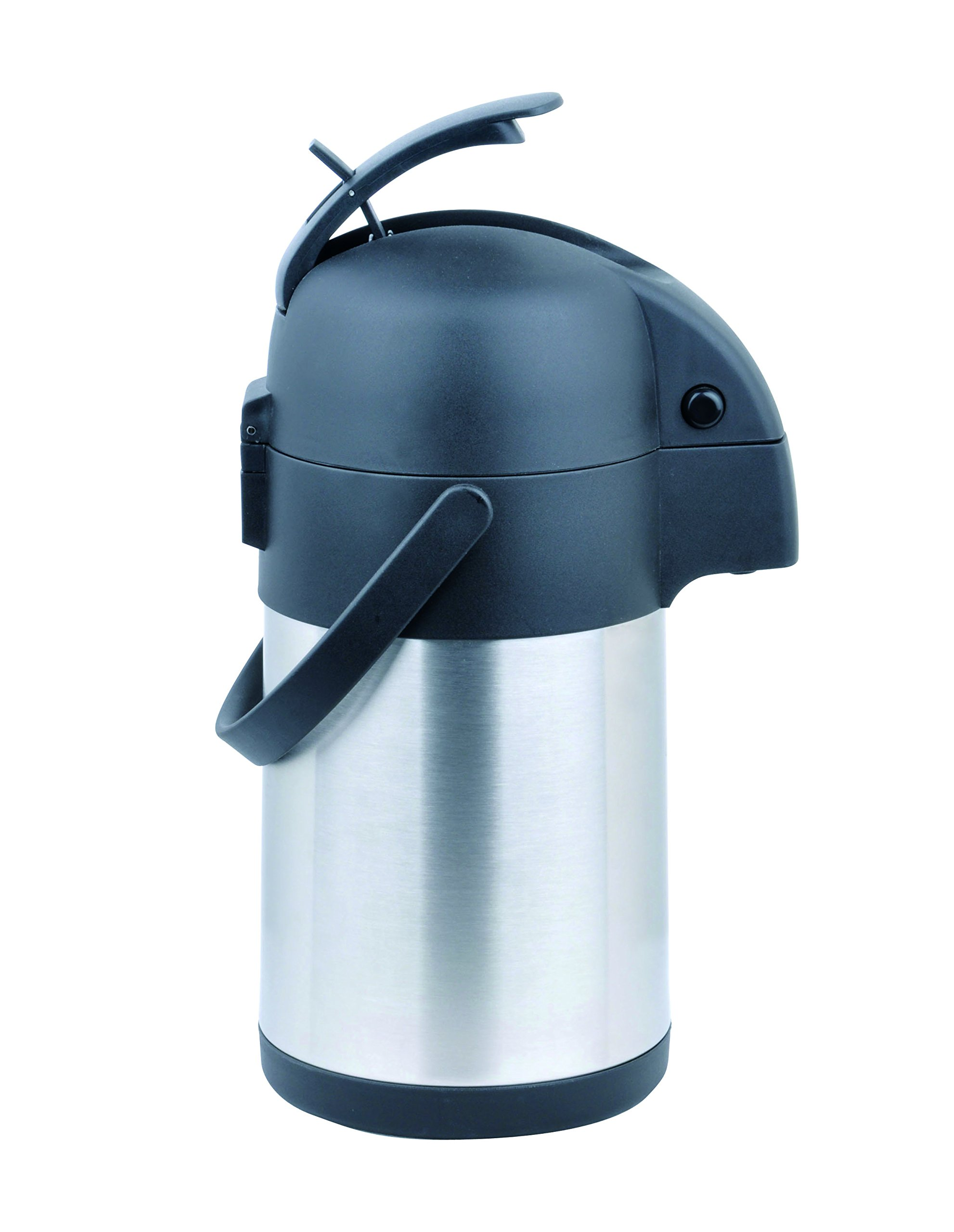 Cafe Moka Stainless Steel Coffee Airpot - 2.2 Ltr by Cafe Moka