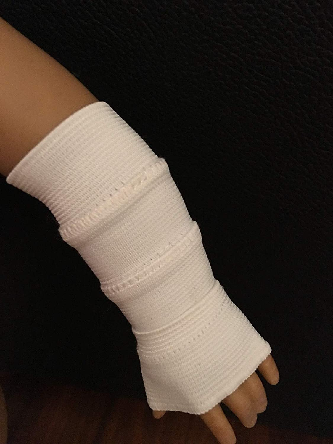 For American 18 inch Girl Doll Left Right Arm Cast, or Bandage for Medical Supply Kit Item