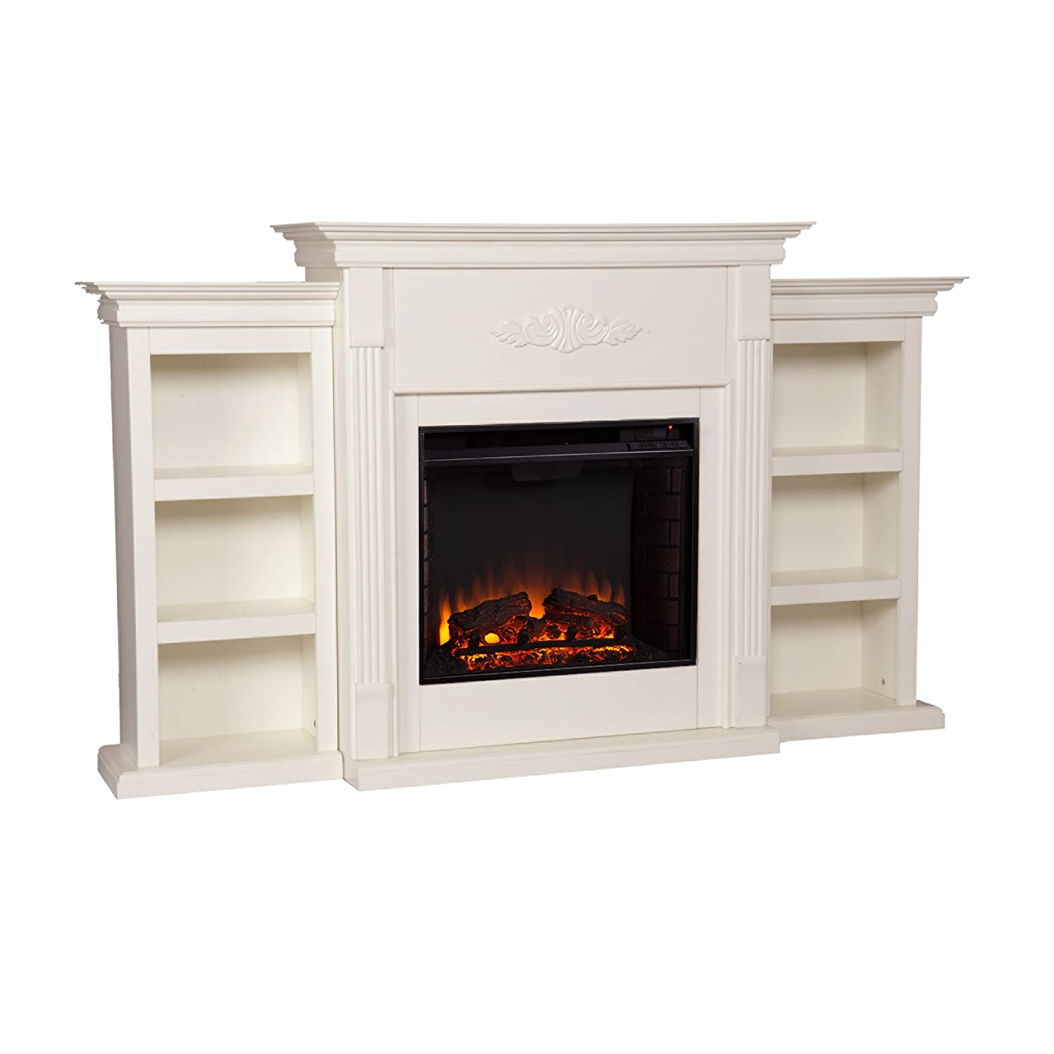 Amazon Com Southern Enterprises Tennyson Electric Fireplace With