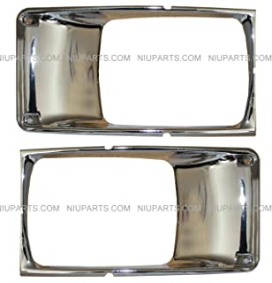 Fit: International 9400 9200 8100 8200 8300 4900 4700 4800 Trucks 2 pcs of Behind Fender Cab Turn Signal Marker Light with Rubber Grommet Amber