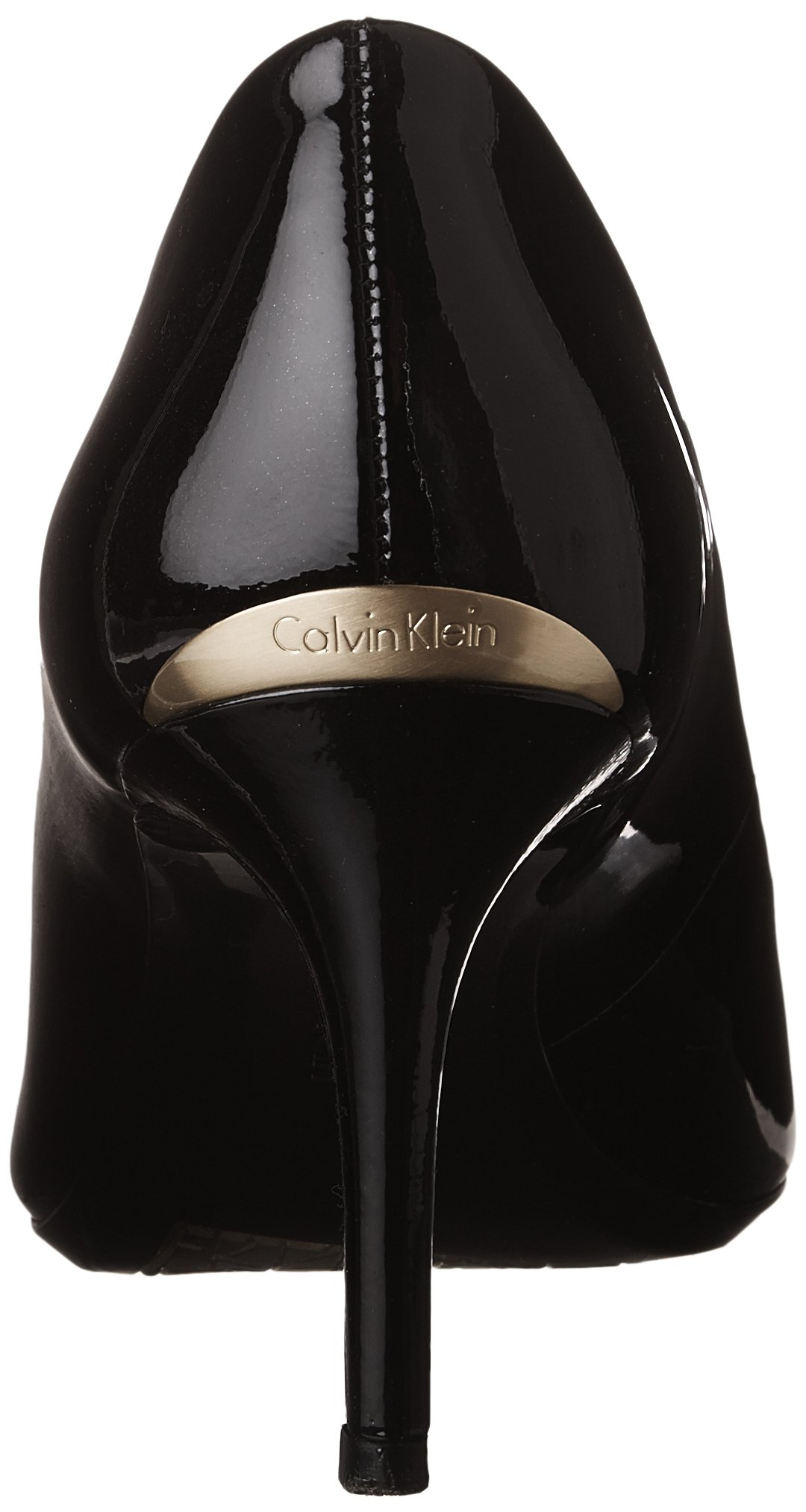 Calvin Klein Women's Gayle  Dress Pump,Black Patent, 7.5 M by Calvin Klein (Image #2)