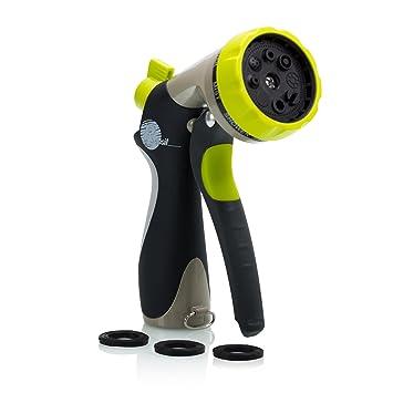 Amazoncom Garden Hose Nozzle Hand Sprayer 8 Pattern