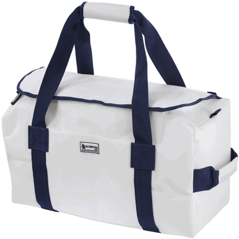 Bainbridge Sailcloth Deluxe Sailing Bag - White Large