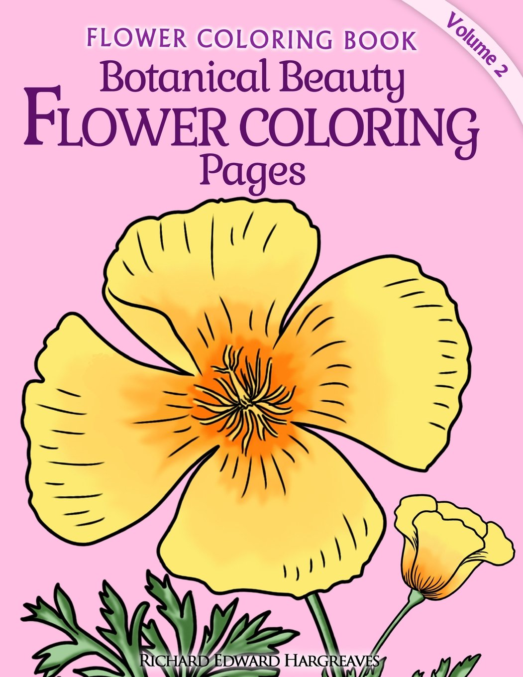 Botanical Beauty Flower Coloring Pages product image
