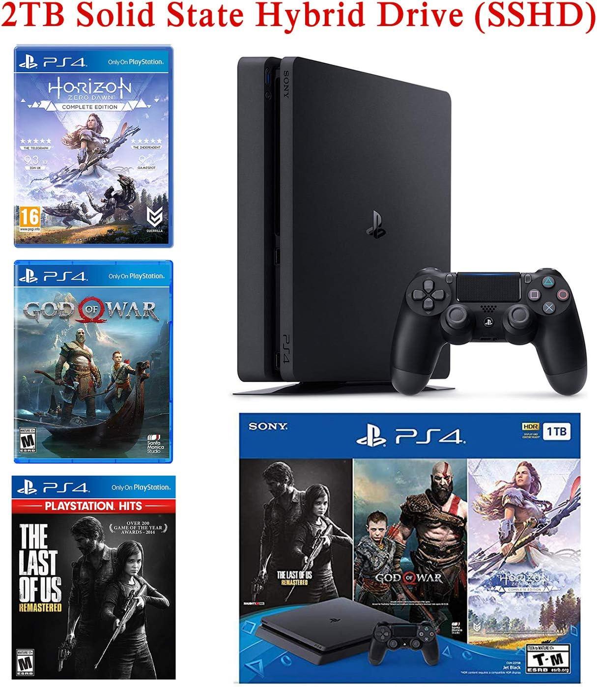 NexiGo Playstation 4 Slim PS4 - Consola SSHD de 2 TB con controlador inalámbrico Dualshock 4: Amazon.es: Electrónica