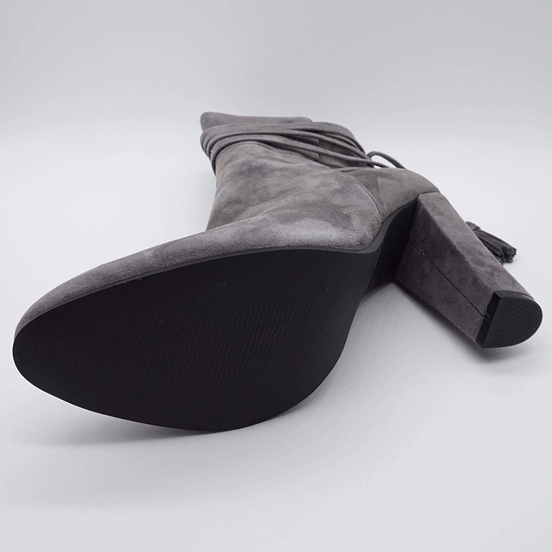 Steve Madden GLORRIA Damen Stiefeletten Übergrößen grau grau grau af7f39