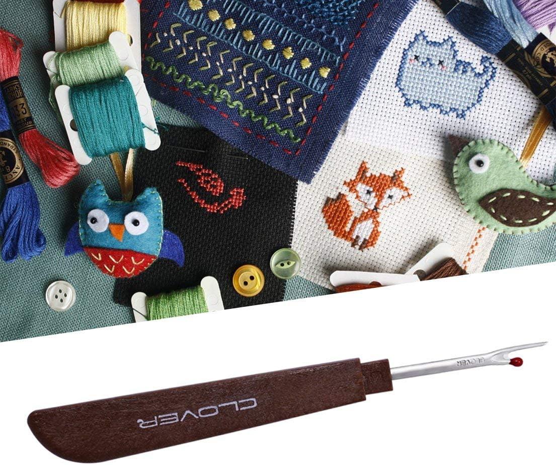 Cheekbone 2pcs Seam Rippers Handy Stitch Ripper Sewing Tools Thread Remover Kit Thread Unpicker Needlework Accessories