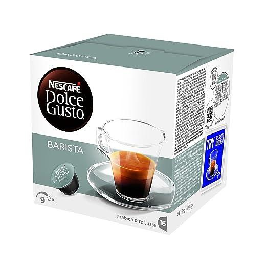 235 opinioni per NESCAFÉ DOLCE GUSTO BARISTA, caffè espresso, 16 capsule (16 tazze)