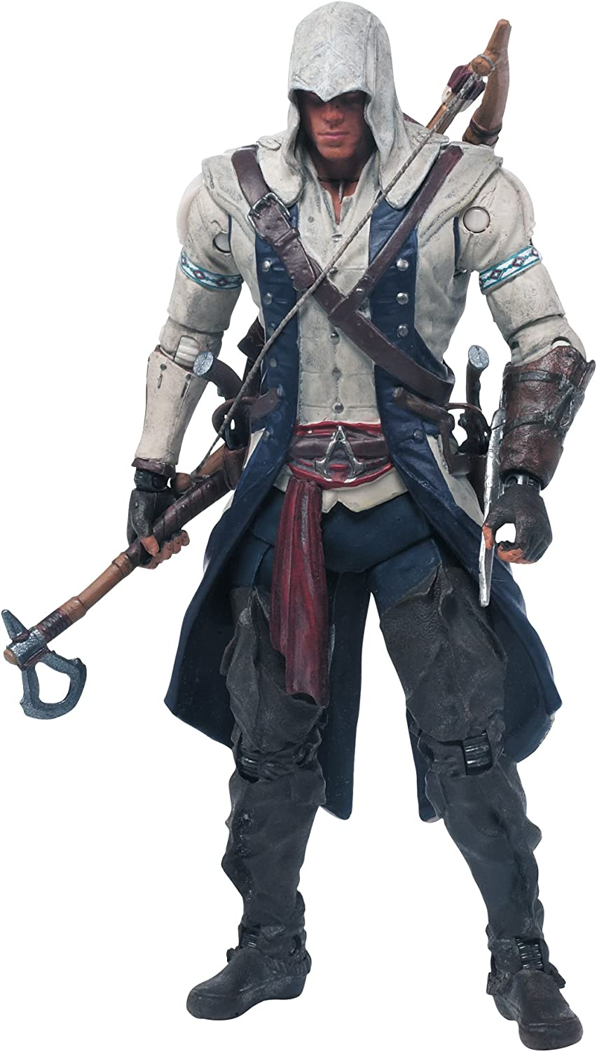 Amazon Com Mcfarlane Toys Assassin S Creed Connor Action Figure Toys Games