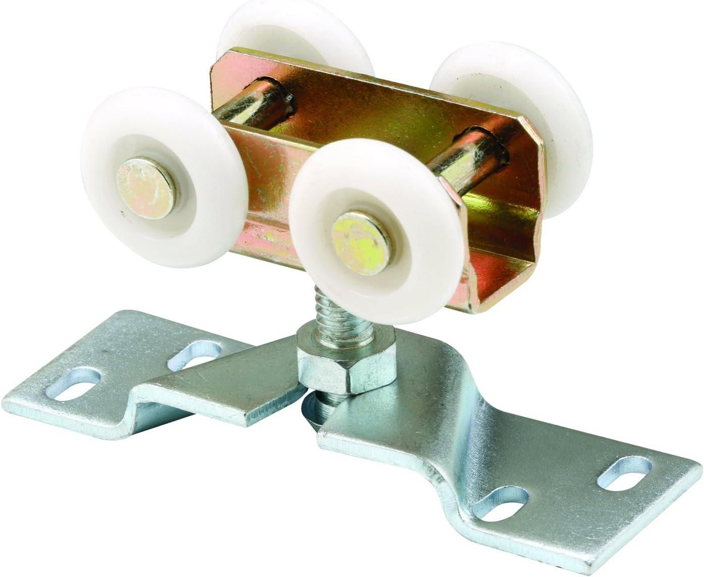 L Plastic//Steel  Roller  2 pk x 1//4 in Dia Prime-Line  5//8 in