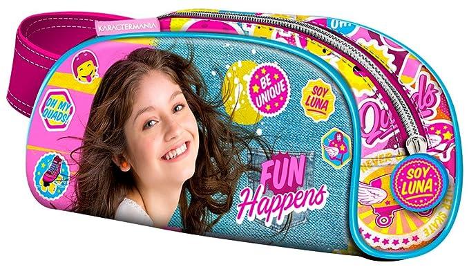 Soy Luna Estuche portatodo Color Morado 20 cm Karactermanía ...