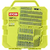 Ryobi Drill and Drive Kit (127-Piece) with Compact Closing Hard Case