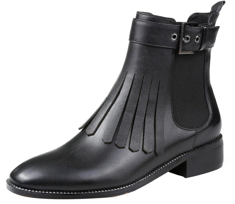 ELEHOT Womens Elejust 3CM low-heel Boots