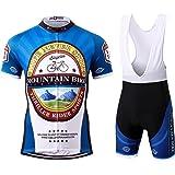 Thriller Rider Sports® Uomo Mountain Bike Club Sport e Tempo Libero Abbigliamento Ciclismo Magliette Manica Corta 4 Colors