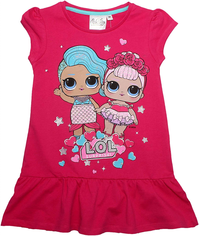 LOL Surprise Girls Hearts Sparkle Glitter Summer Dress